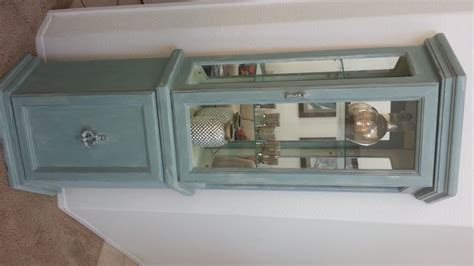 Painting Curio Cabinet Ideas by Chic Curio Cabinet The Contented House