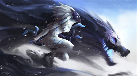 screen resizer mobile legend league of legends kindred wallpapers hd desktop and