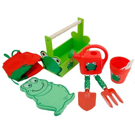 Children S Garden Tools Set by Padula Deluxe Gardening Tool Set With Apron Rp