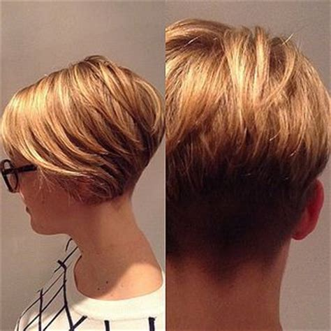 clippered back bob haircut 17 best images about short haircuts on pinterest short