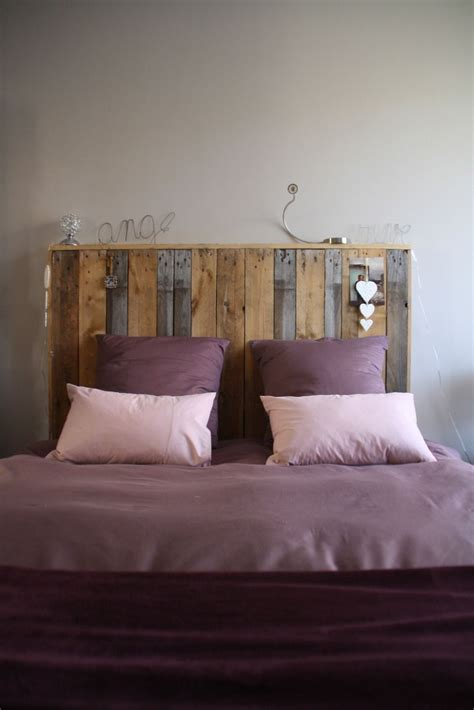 lit en palette de bois avec lumiere ides de tete de lit en palette avec lumiere galerie dimages
