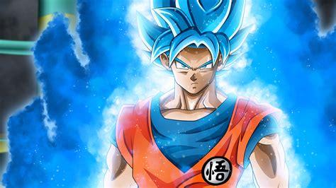 dragon ball super blue goku portrait uhd  wallpaper pixelz