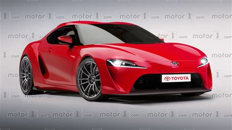 hyped toyota supra revival digitally imagined