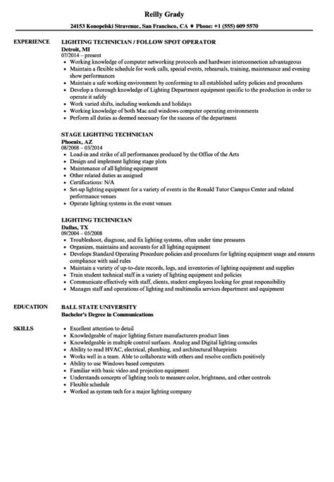 lighting technician job description lighting technician job description decoratingspecial com