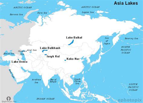 world major lakes map εγκύκλιος παιδεία η θεση και το φυσικο περιβαλλον τησ ασιασ