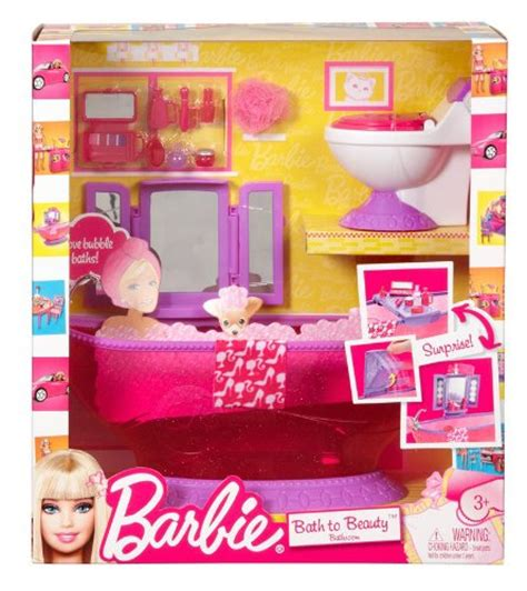 barbie doll bathroom barbie bath set 6 18 from 12 99