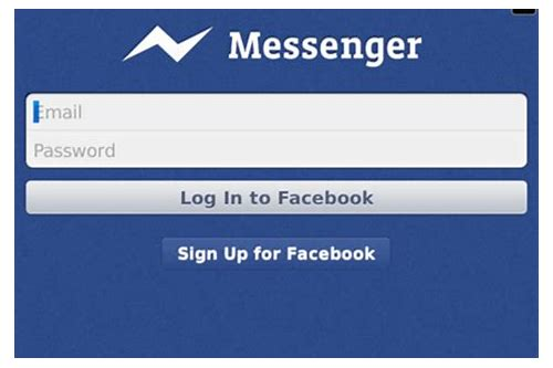 facebook messenger para descargar gratuita de blackberry
