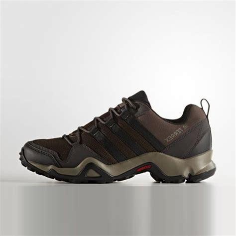 jual sepatu trail adidas terrex ax2r brown original