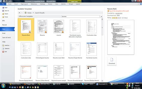 Microsoft Office 2007 Di Malaysia tips mengarang dan menyediakan resume