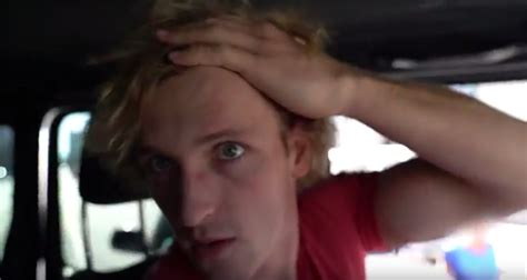 logan paul car logan paul got into a scary car vlogged it