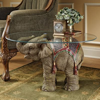 Elephant Tosca 7 unique coffee tables with sculpture base furniture