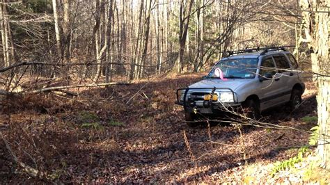 chevy tracker off road chevy tracker offroad 5spd 2 5 quot lift youtube