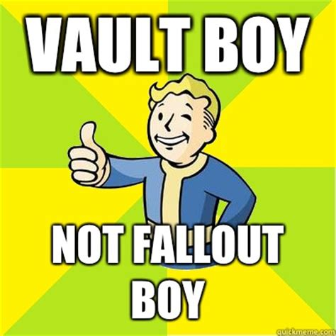 vault boy not fallout boy fallout new vegas quickmeme