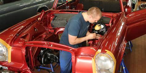 Werkstatt Oldtimer by Mercedes 300 Sl Pagode Pullman Kienle Restauriert