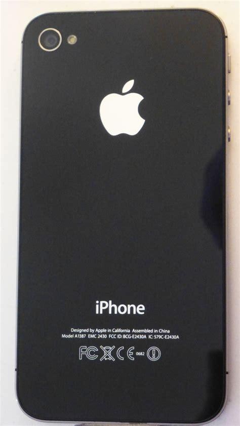 Hp Iphone Model A1387 Emc 2430 apple iphone 4s model a1387 emc 2430 16gb restored to