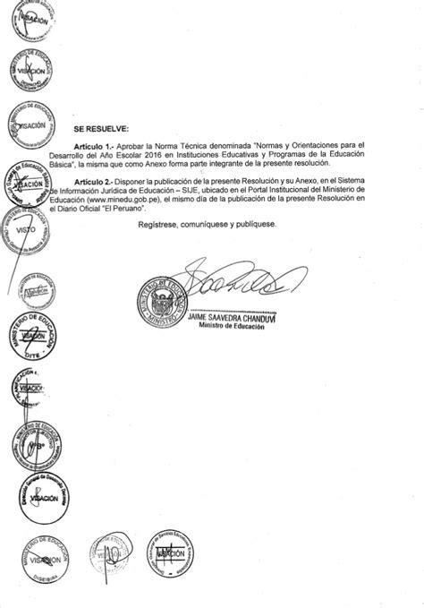 resolucion ministerial n199 2015 minedu rm 572 2015 minedu