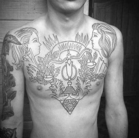 libra tattoo for men 60 libra tattoos for balanced scale ink design ideas