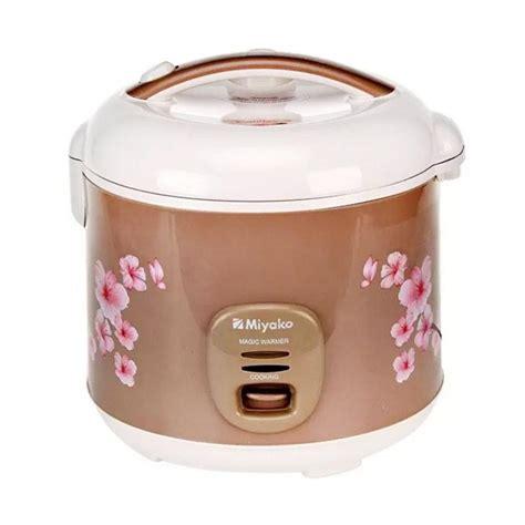 Miyako Mcm 509 Rice Cooker Magic 3in1 1 8 Liter jual miyako mcm509 3in1 rice cooker 1 8 l harga