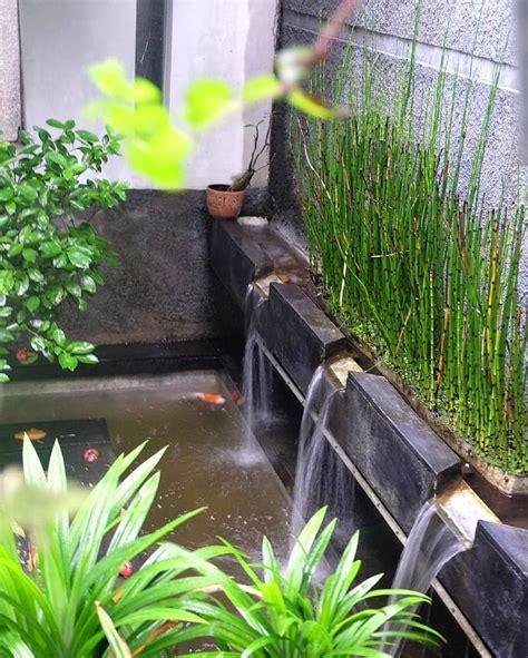 kolam ikan kecil  taman rumah sederhana kolam kolam ikan minimalis kolam