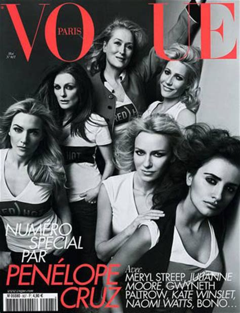 The Meryl Streep Covers Vogue by Meryl Streep On American Vogue Cover At 62