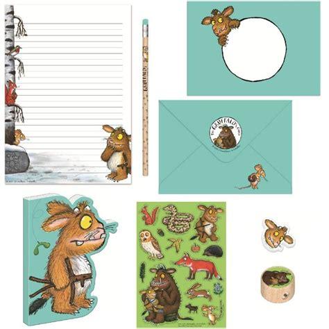 gruffalo writing paper writing paper gift box the gruffalo s child stationery