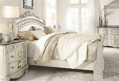 cassimore pearl silver sleigh bedroom set bedroom sets signature design by ashley cassimore pearl silver king