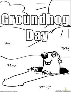 groundhog day kindergarten worksheets groundhog day relay and activities on