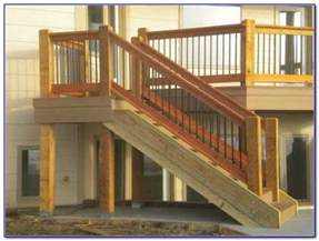 banister height deck stair handrail height handrail height for stairs on a