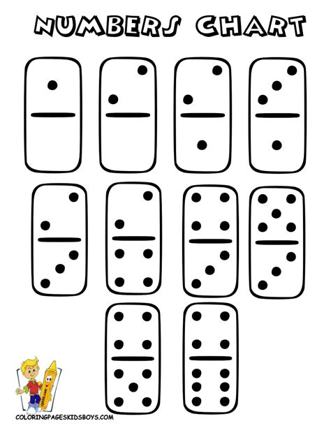 printable domino cards popular numbers coloring pages to print 2 learn dominoes