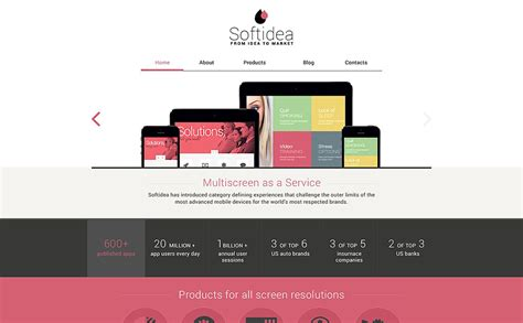 web development responsive drupal template 53247