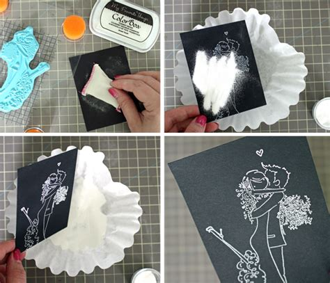 How To Make Handmade Wedding Cards - diy wedding cards tutorial on craftsy