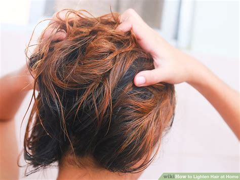 drugstore hair products to lighten hair 4 ways to lighten hair at home wikihow