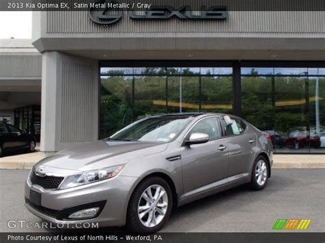 Kia Optima Satin Metal Satin Metal Metallic 2013 Kia Optima Ex Gray Interior