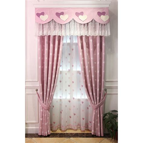 pink valance curtains pink heat jacquard linen dreamy valance curtains