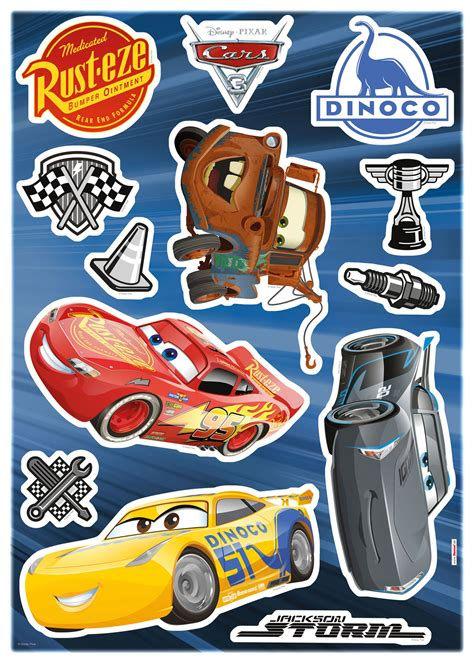 Aufkleber Cars by Cars Disney Decosticker Aufkleber Cars 3 Wand