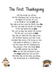 retelling thanksgiving and grade on
