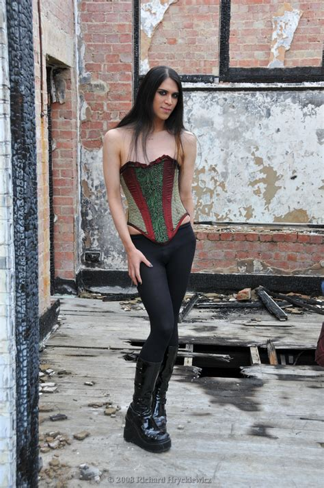 Cd Semi Korset mus corset and tights by rikky1 on deviantart