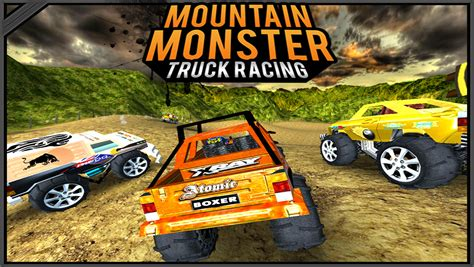 monster truck racing games app shopper mountain monster truck racing games