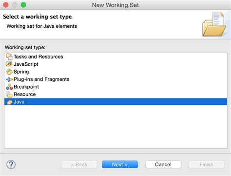 Working Set B working setを作ってsts eclipse のプロジェクトをグループ化する qiita