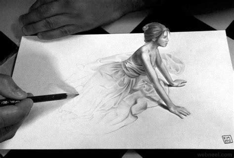 tutorial gambar 3d pencil 50 beautiful 3d drawings easy 3d pencil drawings and art
