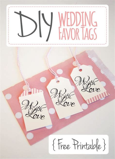 wedding favor tags template free wedding favor tags with luggage tag printable