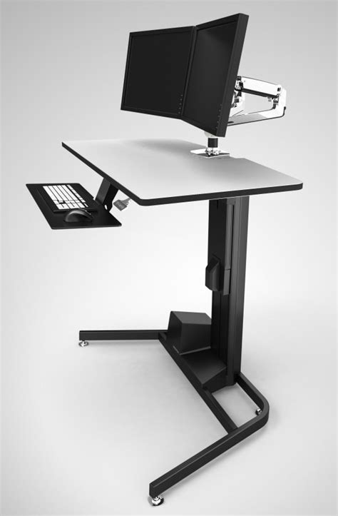 Top 10 Best Standing Sit Stand Desks 2016 Editors Pick Workfit D Sit Stand Desk