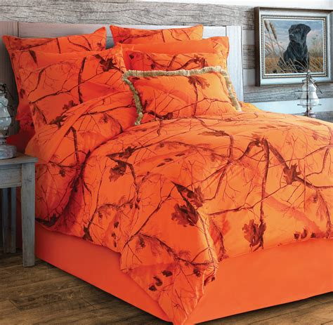 orange camo bedding camo blaze orange bedding collection