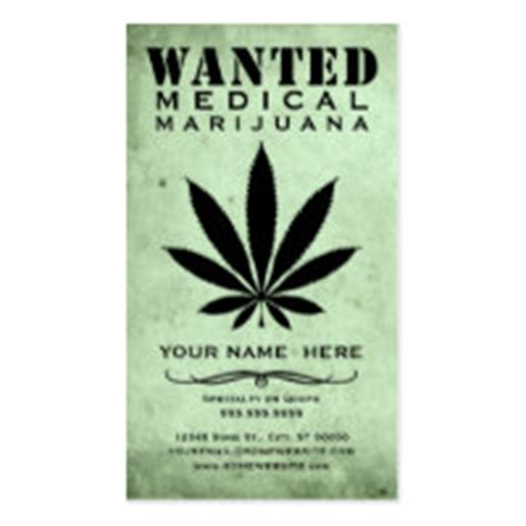 marinuana card template professional business cards for marijuana custom