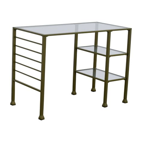 wayfair desk 52 wayfair wayfair gold matte writing desk tables