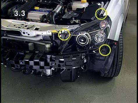 removing and installing the servo motor, headlight range