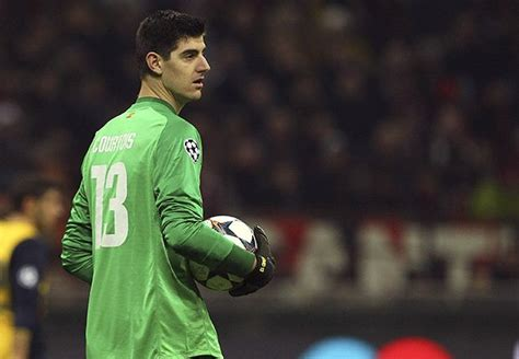 chelsea keeper chelsea keeper courtois close to atletico madrid loan