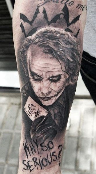 joker tattoo inked magazine batman tattoos for men ideas and designs for guys
