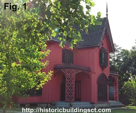 Gothic Revival House Plans historic buildings of connecticut 187 picturesque houses