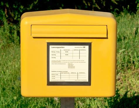 deutsche post briefkasten coureon